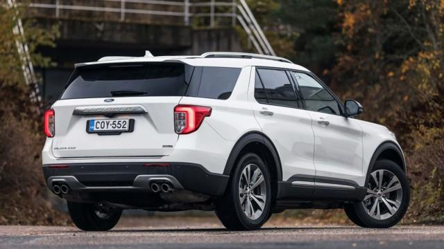 Ford Explorer Plug-in Hybrid Platinum