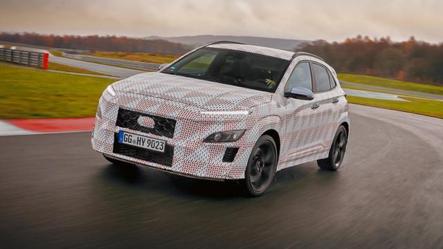 Hyundai KONA N prototyyppi 2021