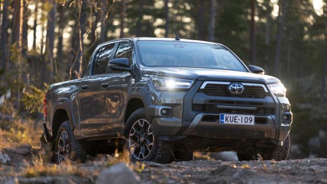 Koeajo: Toyota Hilux viilattiin vieläkin väkevämmäksi