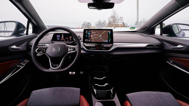 Volkswagen ID.4 - ohjaamo