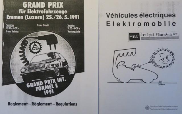 autoilun aikakone sähköautot 1990-luku