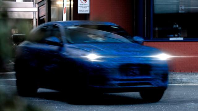 Maserati Grecale SUV prototype