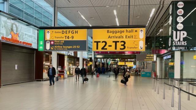 Amsterdamiin pikatestin kautta korona covid matkailu