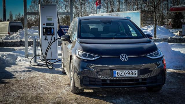 Volkswagen ID.3 toimintamatka