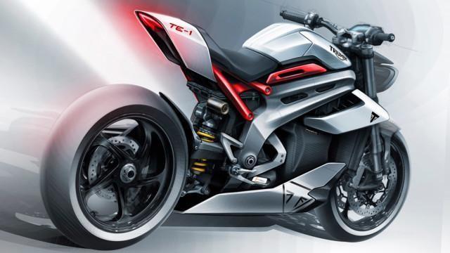 Triumph sähkömoottoripyörä