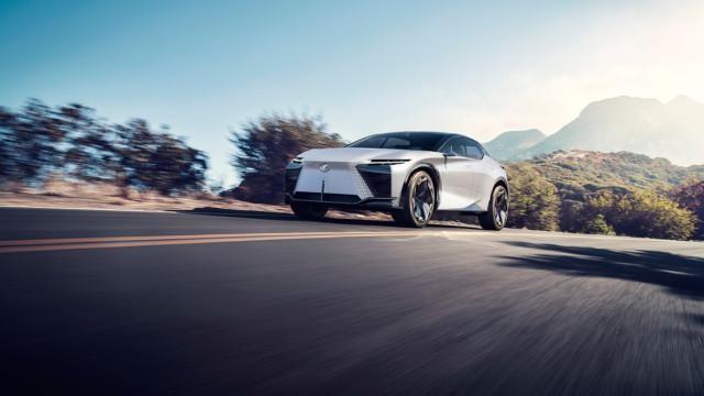 Lexus LF-Z Electrified -konseptiauto
