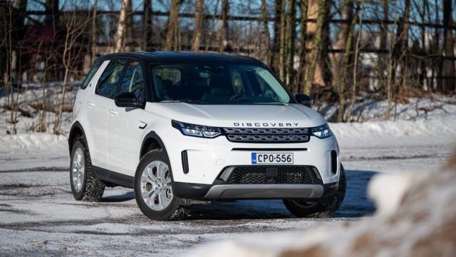 Koeajo: Land Rover Discovery Sport P300e – sähköllä malliston lippulaivaksi