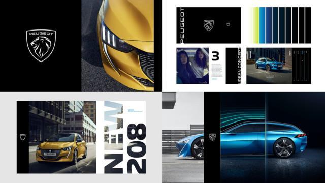 Peugeot new logo – brand