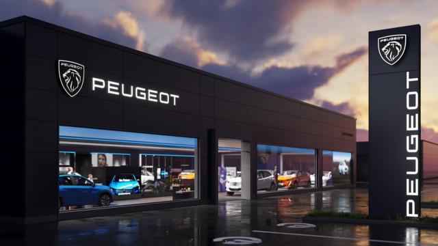 Peugeot new logo – store