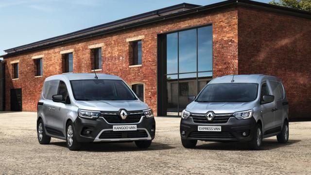 Renaultin hyötyajoneuvot 2021 – RENAULT EXPRESS VAN (FJK), RENAULT KANGOO VAN (FFK)