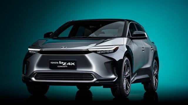 Toyota bZ4X -konseptiauto