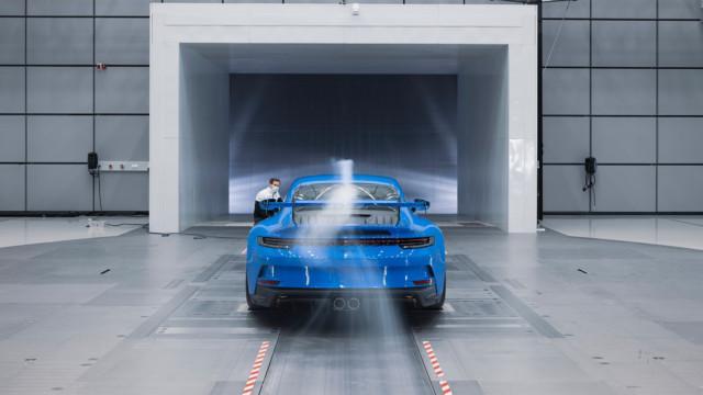 Porsche 911 GT3 (992) windtunnel