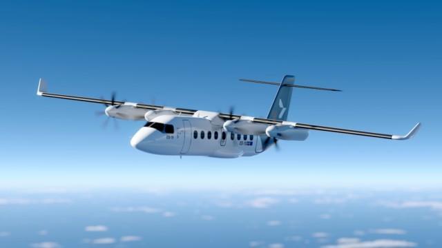 Finnair sähkölentokone Heart Aerospace ES-19