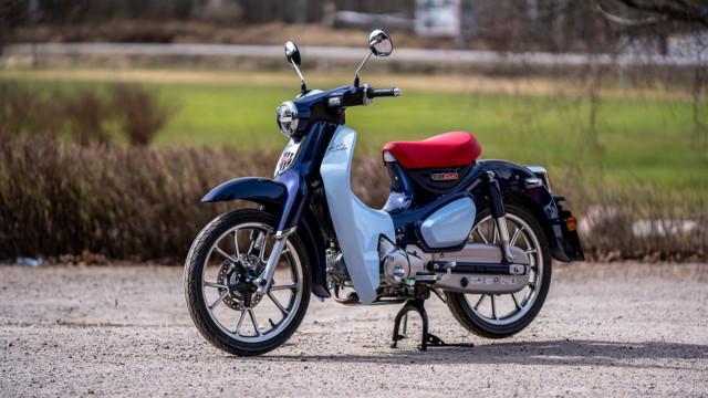 """Maistiainen: Honda Super Cub 125 - """"Moottoripyörien VW Kupla"""""""