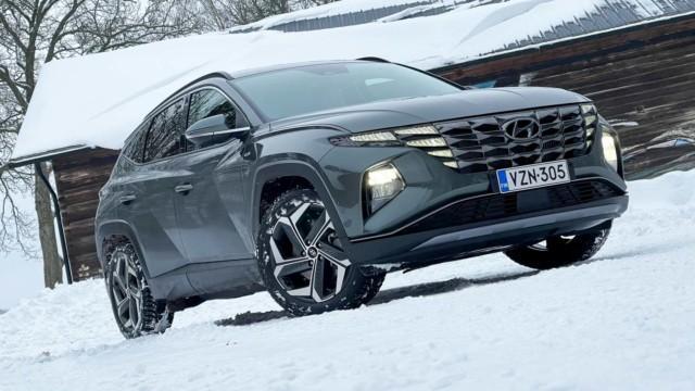 Koeajo: Hyundai Tucson 1.6 T-GDI 48V Hybrid on särmikäs niin muodoiltaan kuin ominaisuuksiltaankin