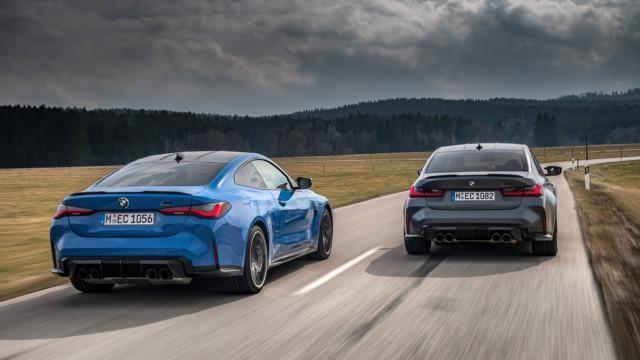 BMW M3 Sedan xDrive Competition ja M4 Coupé xDrive Competition