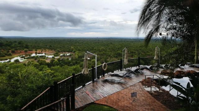 Victorian putoukset Victoria Falls Sambia Zimbabwe