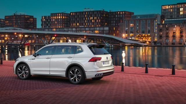 The 2021 Volkswagen Tiguan Allspace