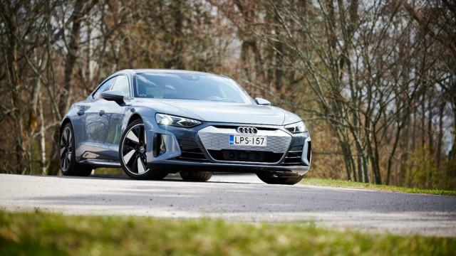 Maistiainen: Audi e-tron GT quattro – lähes 500 sähköhevosta