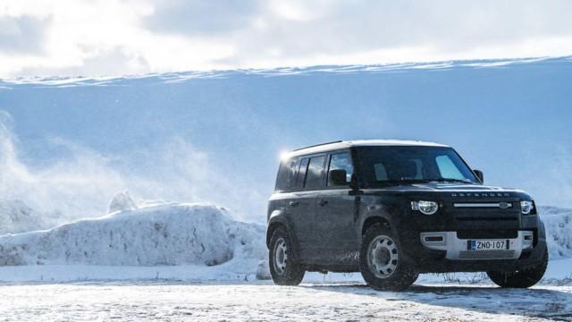 Koeajo: Land Rover Defender LCV ja Posti-Paten rankka päivä