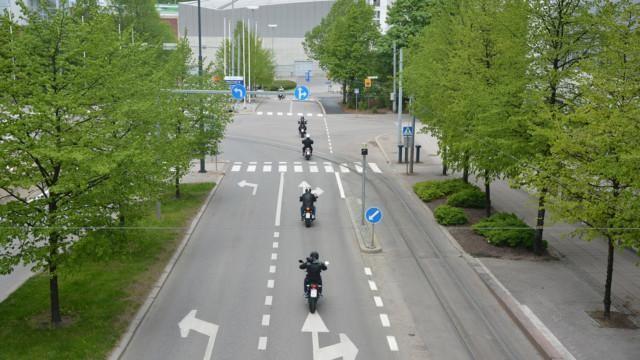 Moottoripyörien koeajopäivät