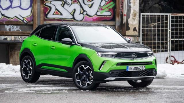 Koeajo: Opel Mokka-e on itsevarmemmin Opel sisarmerkkeihin verrattuna
