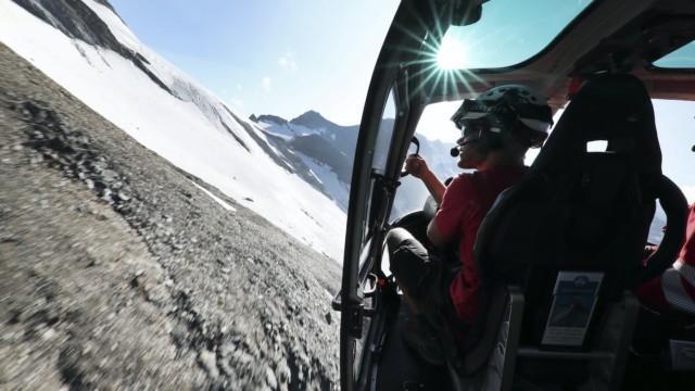 Air Zermatt Sveitsi Alpit helikopteri