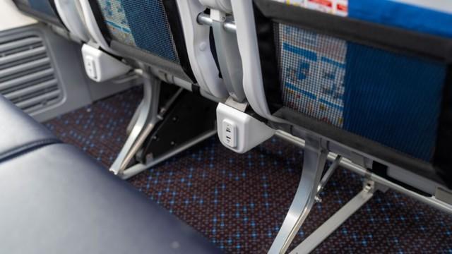KLM Boeing 737 sisusta 1