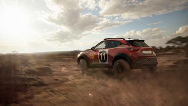 Nissan Juke ralli