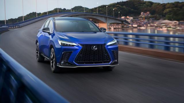 Uusi Lexus NX 2022