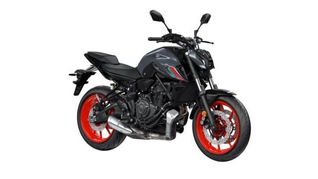 Moottoripyörien myynti Yamaha MT-07