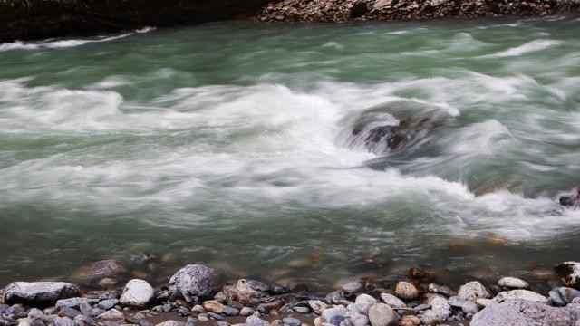 Aareschlucht Alpit Sveitsi Aarejoki