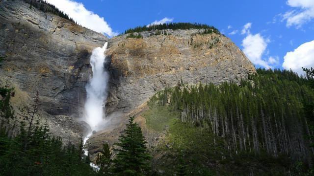 Kanada Kalliovuoret vaeltaminen luonnonpuisto