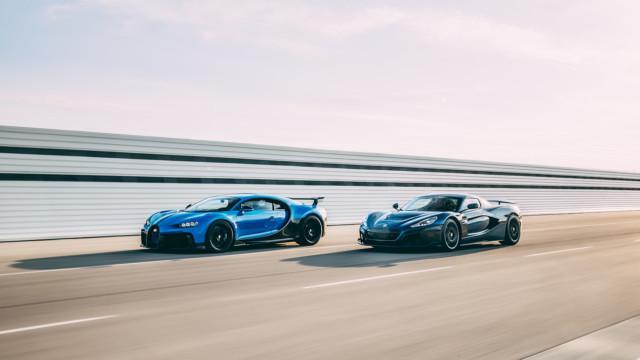 Bugatti Porsche Rimac – yhteistyö