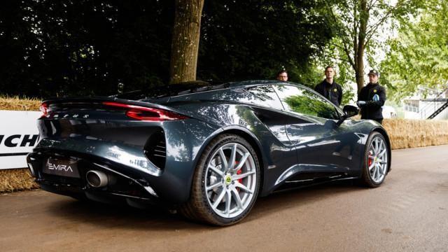 Lotus at Goodwood Festival of Speed 2021 –Emira