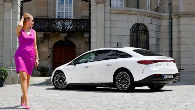 Koeajo: Mercedes-Benz EQS 580 4Matic – Esikuvan elkein
