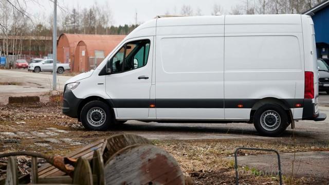 Koeajo: Mercedes-Benz eSprinter -sähköpaku yllättää käyttökustannuksissa