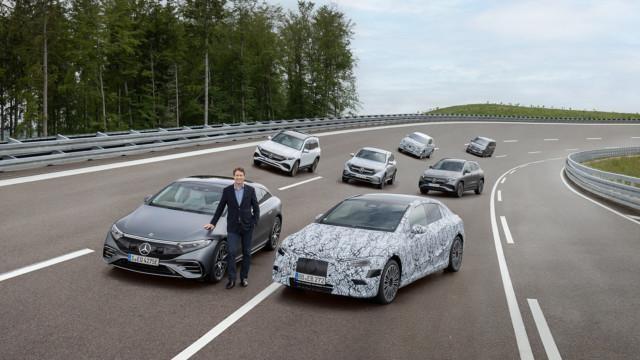 Mercedes-EQ Family with Ola Källenius –Mercedes-Benz täyssähköistyy 2030
