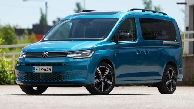 Koeajo: Volkswagen Caddy California tarjoaa seikkailua arkeen