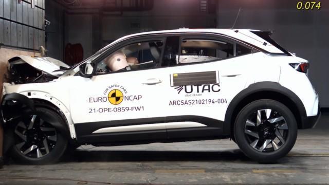 Renault Kangoo Opel Mokka Euro NCAP