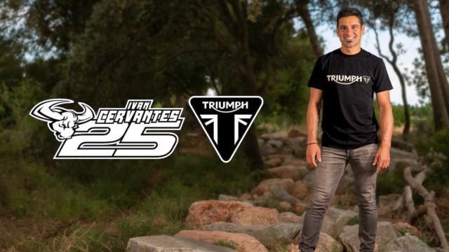 Triumph offroad Ivan Cervantes enduro motocross