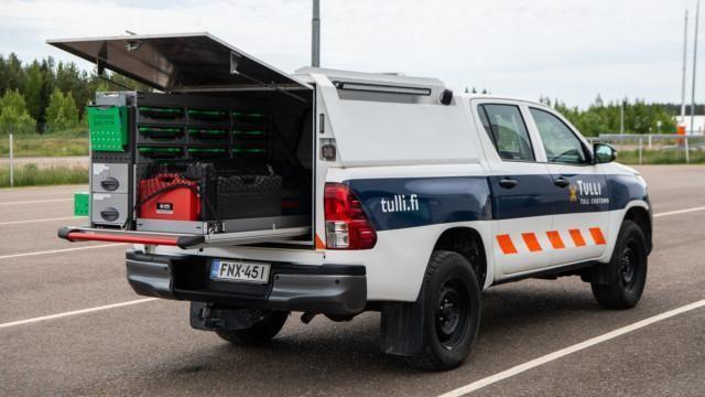 autontarkastustoiminta autontarkastus suomen tulli raja auto valvonta EU koulutus tarkastus