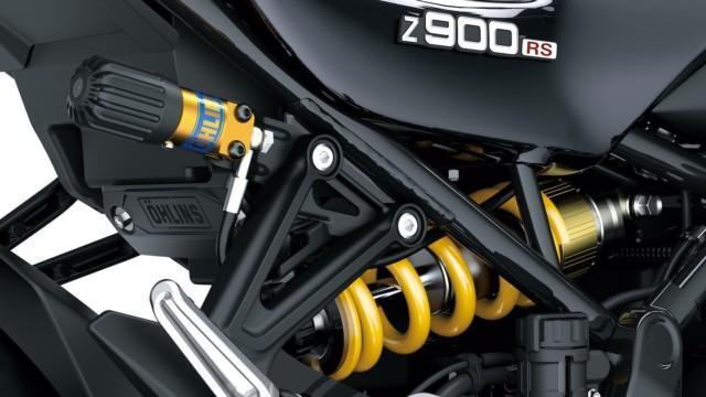 Kawasaki Z900RS SE retro Yellow Ball Z1
