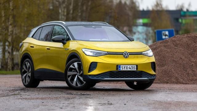 Koeajo: Volkswagen ID.4 myy syystäkin pikkusisartaan paremmin