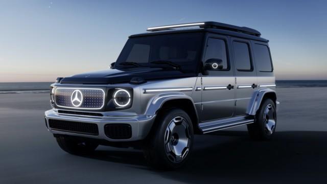 Mercedes-Benz EQG G-sarja sähkö