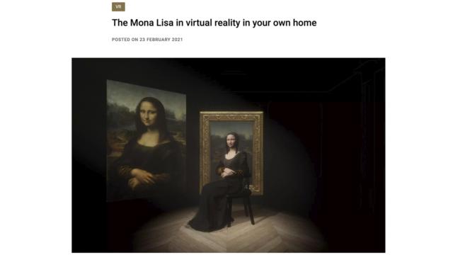 matkalla museossa virtuaalimuseo louvre pariisi mona lisa