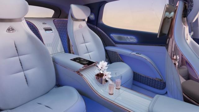 Mercedes-Maybach EQS SUV sähköauto Mercedes-Benz Mercedes-EQ konsepti
