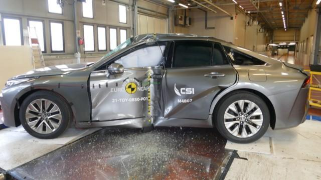 Euro NCAP Toyota Mirai vetyauto vetypolttokenno