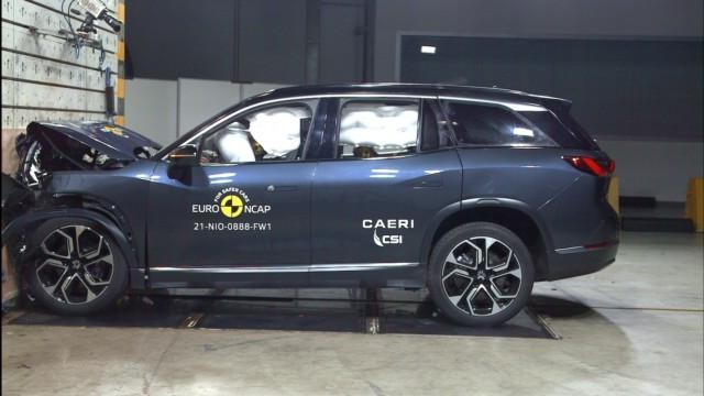 Euro NCAP Nio ES8 sähköauto