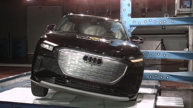 Euro NCAP Audi Q4 e-tron sähköauto